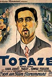 Topaze Poster