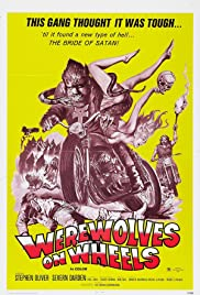 Werewolves on Wheels(1971) Poster - Movie Forum, Cast, Reviews