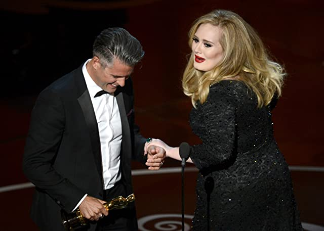 Paul Epworth and Adele at The 85th Annual Academy Awards (2013)