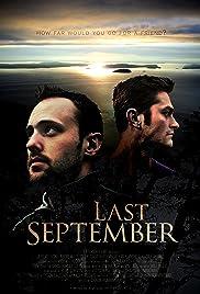 Last September Poster