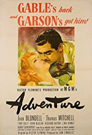 Adventure (1945) Poster - Movie Forum, Cast, Reviews
