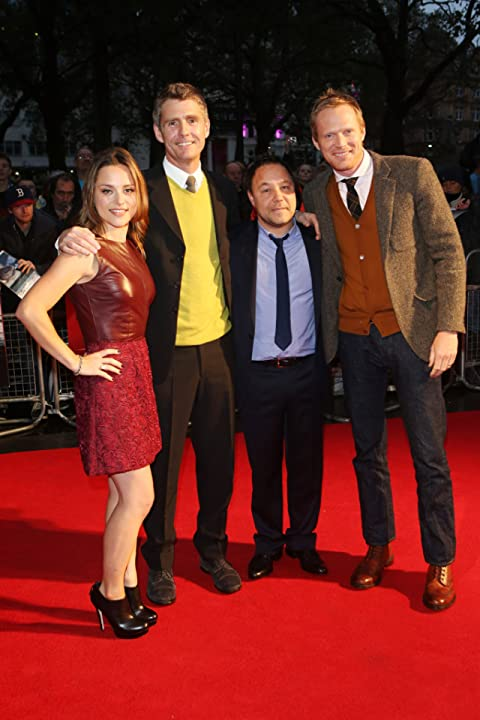 Paul Bettany, Stephen Graham, Zoë Tapper, and Nick Murphy at Blood (2012)