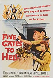 Five Gates to Hell Poster