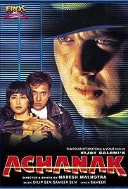Achanak(1998) Poster - Movie Forum, Cast, Reviews