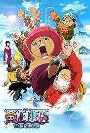 One piece: Episodo obu choppa + Fuyu ni saku, kiseki no sakura Poster
