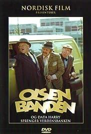 Olsenbanden og Data-Harry sprenger verdensbanken Poster