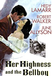 Her Highness and the Bellboy (1945) Poster - Movie Forum, Cast, Reviews