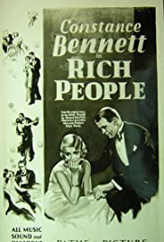 Rich People Poster