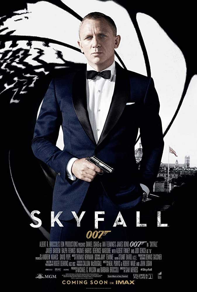 Skyfall poster do filme