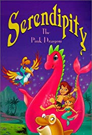 Serendipity the Pink Dragon Poster