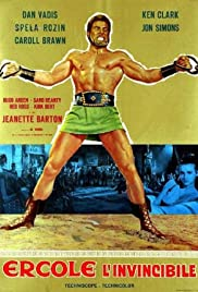 Hercules the Invincible (1964) Poster - Movie Forum, Cast, Reviews