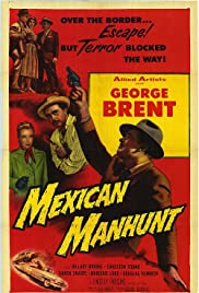 Mexican Manhunt Poster