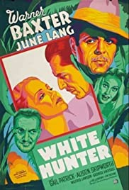 White Hunter Poster