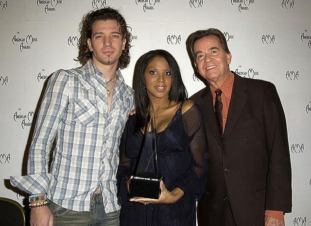Toni Braxton, J.C. Chasez, and Dick Clark
