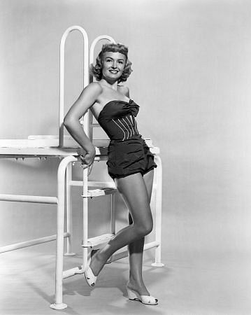 Donna Reed poses for