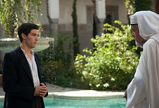 Michael Lonsdale and Tahar Rahim in Free Men (2011)