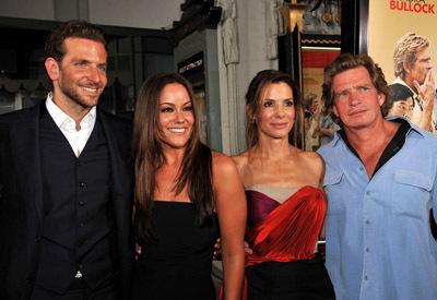 Sandra Bullock, Thomas Haden Church, Bradley Cooper, and Katy Mixon at All About Steve (2009)