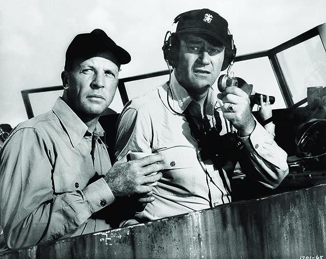 John Wayne and Dan Dailey in The Wings of Eagles (1957)