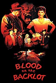 Blood on the Backlot Poster