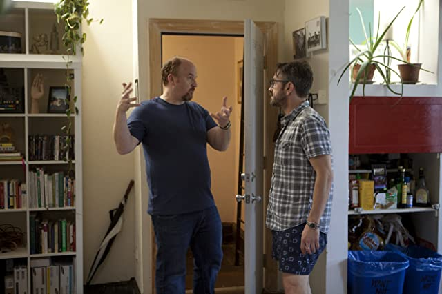 Louis C.K. and Marc Maron in Louie (2010)