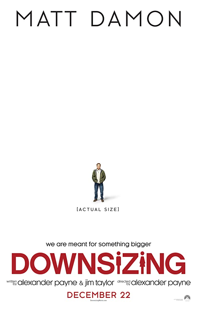 Downsizing 2017 Movie Esub 350MB
