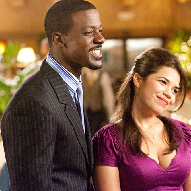 America Ferrera and Lance Gross in Our Family Wedding (2010)