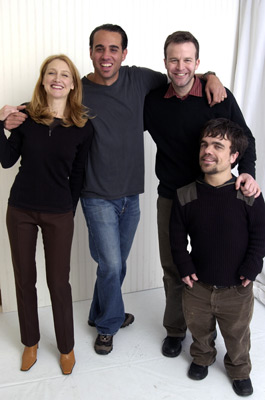 Bobby Cannavale, Patricia Clarkson, Peter Dinklage, and Tom McCarthy at The Station Agent (2003)
