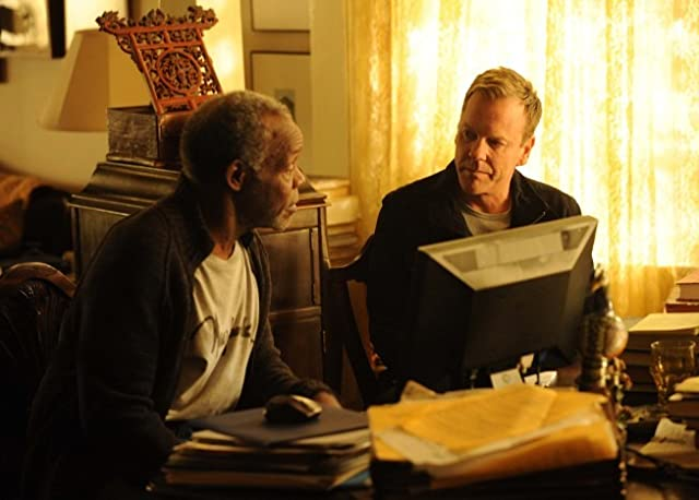 Danny Glover and Kiefer Sutherland in Touch (2012)