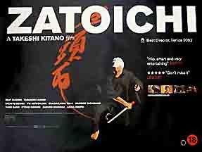 Takeshi Kitano in The Blind Swordsman: Zatoichi (2003)