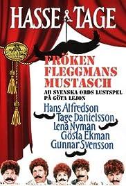 Fröken Fleggmans mustasch Poster