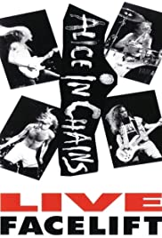 Alice in Chains: Live Facelift Poster