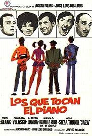 Los que tocan el piano Poster