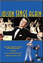 Jolson Sings Again Poster