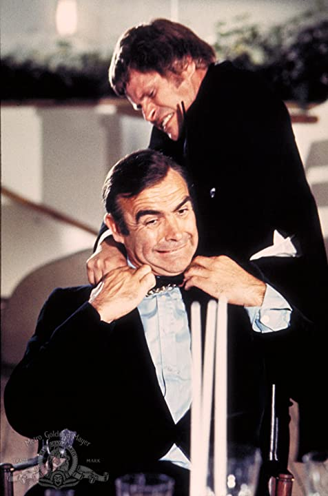 Sean Connery and Bruce Glover in Diamonds Are Forever (1971)