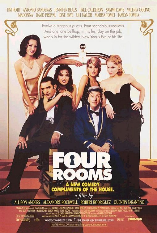 Four Rooms BluRay