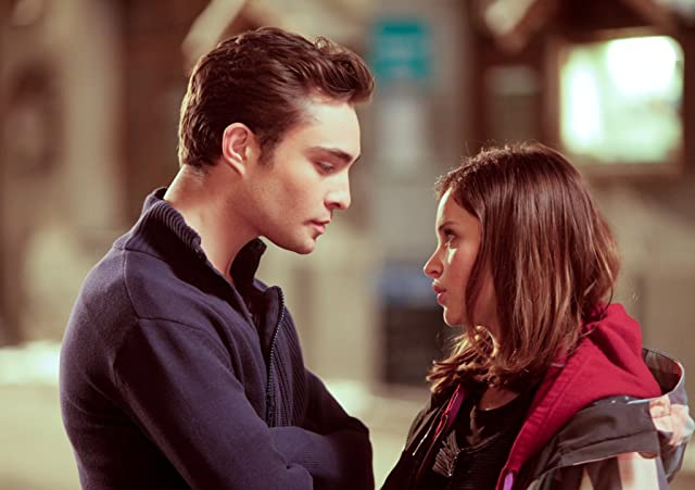 Felicity Jones and Ed Westwick in Chalet Girl (2011)