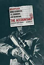 The Accountant cartel de la película