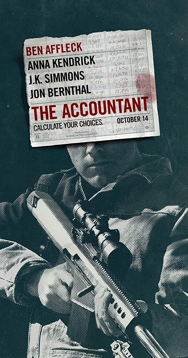 Saskaitininkas / The Accountant (2016) Online