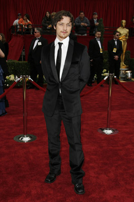 James McAvoy at The 79th Annual Academy Awards (2007)