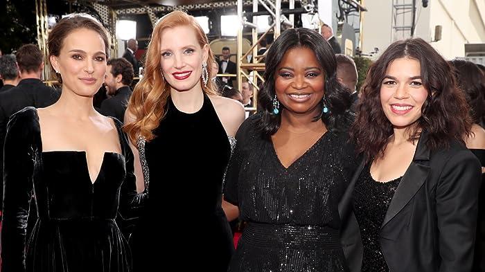 2018 Golden Globe Stars Celebrate Women in Film and TV