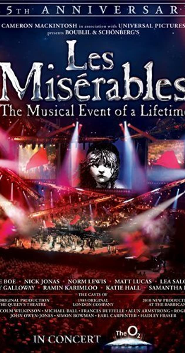 watch les miserables 25th anniversary 2010 movie full download free movies online watch. Black Bedroom Furniture Sets. Home Design Ideas