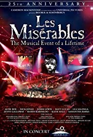 les miserables in concert the th anniversary imdb les miserables in concert the 25th anniversary poster
