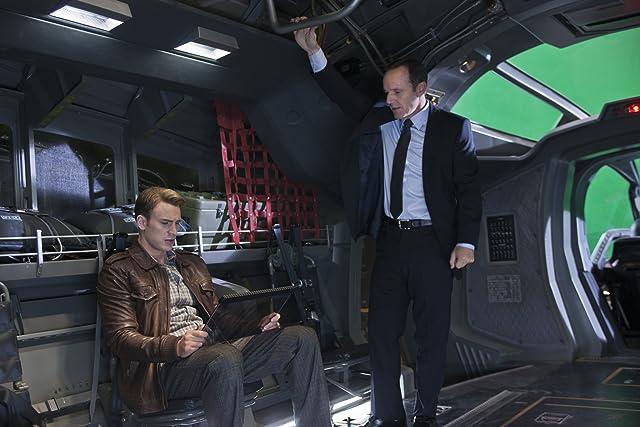 Clark Gregg and Chris Evans in The Avengers (2012)