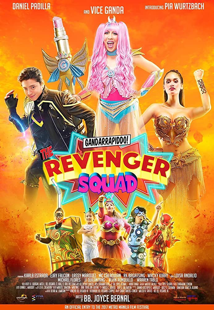 Gandarrapiddo! The Revenger Squad (2017) HDRip