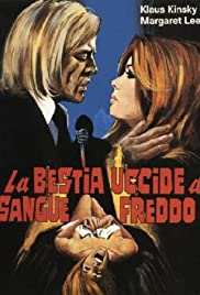 La bestia uccide a sangue freddo (1971) Poster - Movie Forum, Cast, Reviews