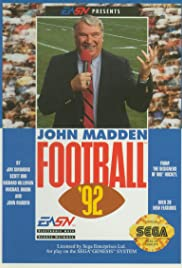 John Madden Football '92 Poster