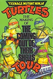 Teenage Mutant Ninja Turtles: The Making of the Coming Out of Their Shells Tour Poster