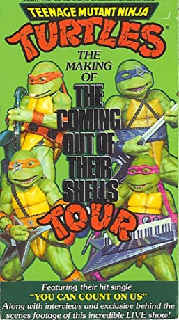 Teenage Mutant Ninja Turtles: The Making of the Coming Out of Their Shells Tour (1990)