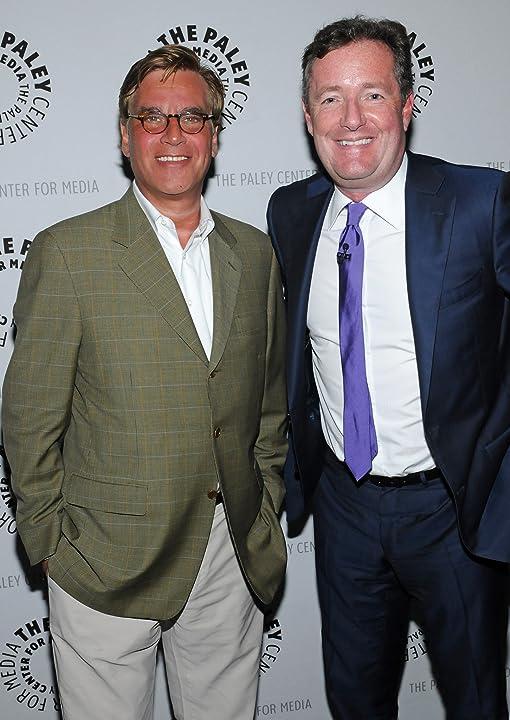 Piers Morgan and Aaron Sorkin at The Newsroom (2012)