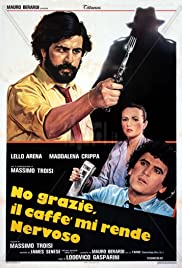 No Thanks, Coffee Makes Me Nervous Poster